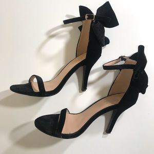 Shoes - Bow Sling Heels